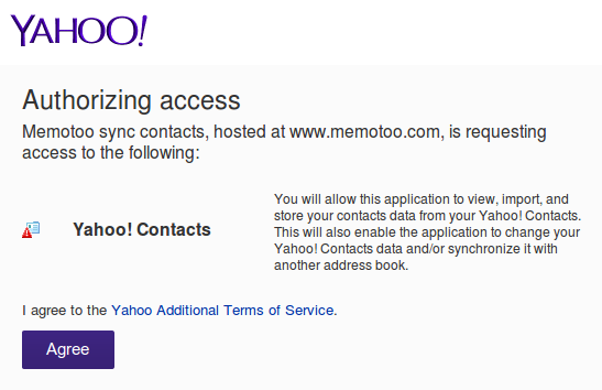 Forum Memotoo: Yahoo Sync is Not Working - 2014-08-28